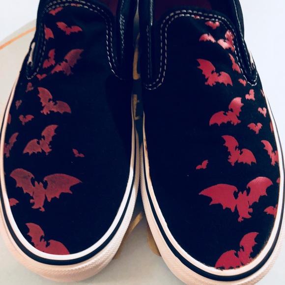 Vans Shoes | Blackred Halloween Vans